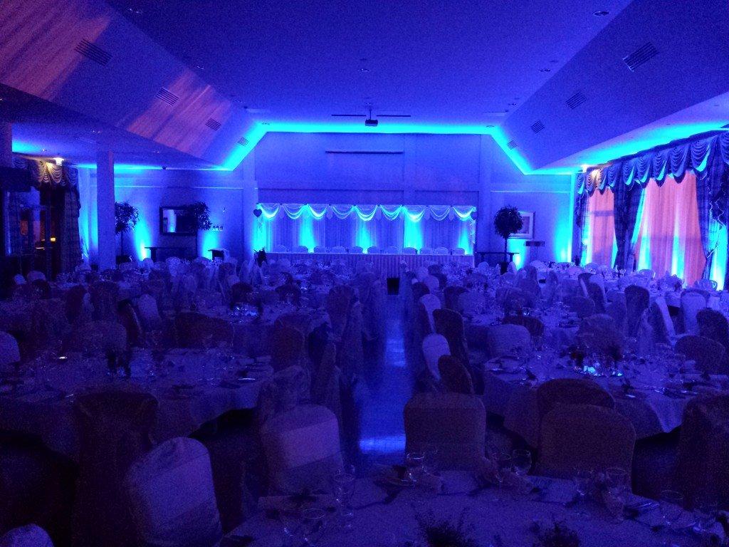 uplighters for weddings